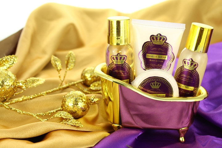 Golden Crown Vanilla Sugar Set