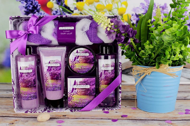 Purple Lavender Set