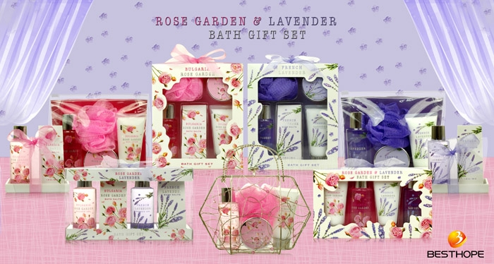 Rose  Garden & Lavender Set