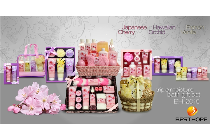 Cherry & Vanilla & Orchid Set