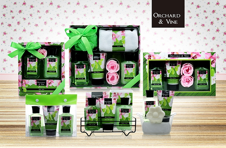 Grape orchid Set